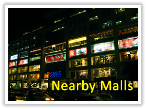 PSA Serviced Apartments nearbymalls